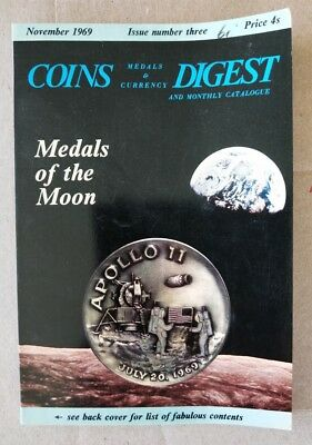 Coins Medals & Currency Digest UK November 1969 catalogue
