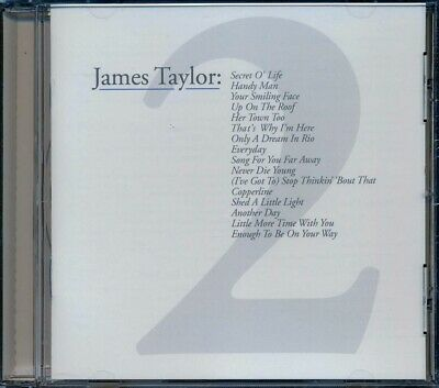 SEALED NEW CD James Taylor - Greatest Hits Volume 2