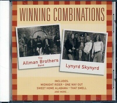 SEALED NEW CD Allman Brothers Band, Lynyrd Skynyrd - Winning Combinations