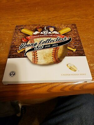 """United States Half Dollar Coin 2014 """"Baseball Hall of Fame"""" Young Collectors set"""