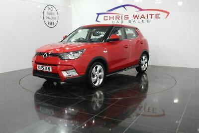 2015 Ssangyong Tivoli 1.6 EX 2WD (s/s) 5dr Petrol red Manual