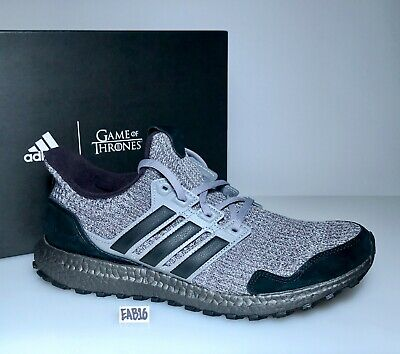 529ab9c8d3126 ADIDAS ULTRABOOST 4.0 X GAME OF THRONES HOUSE STARK Grey Black EE3706 Gray  Size