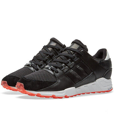 check out 947a4 33b10 ADIDAS MEN'S EQT Support RF Black/Red Sneaker 7M