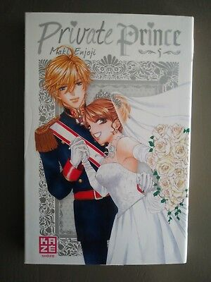 "Manga ""Private Prince"" T5 *Rare*"