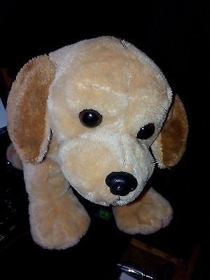PELUCHE LASCAR-Made in France-LABRADOR-25 cm-Comme neuf-