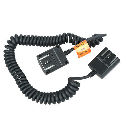 Godox 3M Off-Camera Sync Extension Flash Speedlite TTL Hot Shoe Cable For Sony