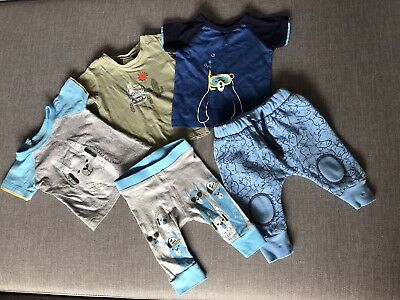 Baby Boy Unisex T-shirts Pants Bundle 0-3 MONTHS 000 Cute Llama Alpaca Bear
