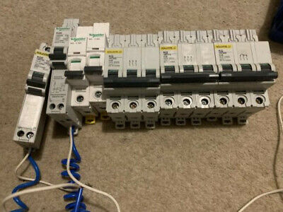 Job Lot Square D Kq Single And 3 Phase Mcbs And Rcbo
