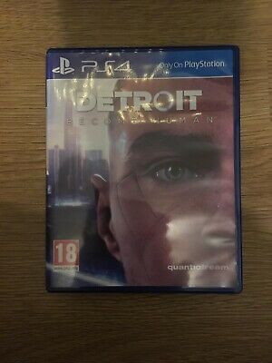 Playstation 4 PS4 Game Detroit Become Human Buy It Now!