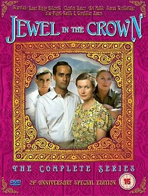 The Jewel In The Crown - Complete Series 1984 Brand New Sealed UK Region 2 DVD