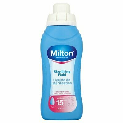 P-Milton Sterilising Fluid 500ml (Pack of 6)
