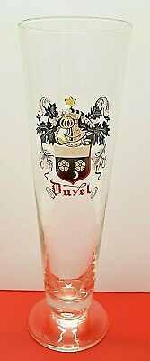 ancien verre bière Duvel model flutte oude bierglas bier old Belgian beer glass