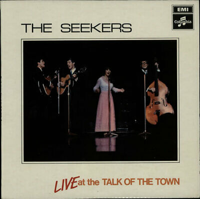 Live At The Talk Of The Town - 2nd Seekers vinyl LP album record UK SCX6278