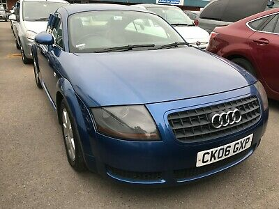 2006 Audi Tt 1.8 T 190 Fwd Manual - Leather, Climate, Alloys, 7 Stamps