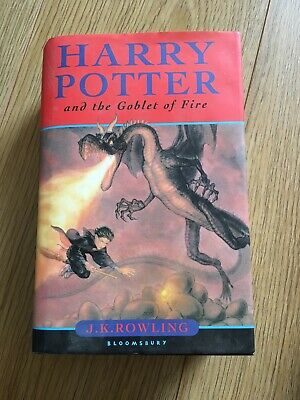 Harry Potter and the Goblet of Fire by J. K. Rowling (Hardback, 2000)