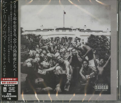 Kendrick Lamar-To Pimp A Butterfly-Japan Cd F43