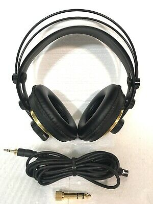 AKG K240 Monitor Studio Headphones-Clean-Minty Cond-Sound Great-Free Shipping!