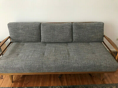 60er Midcentury Sofa Daybed Retro Couch Schlafsofa Vintage Knoll Antimott