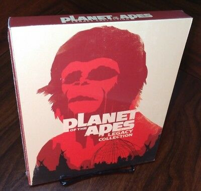 Planet of the Apes:5-Film Collection (Blu-ray Disc,2012,5-Disc Set)NEW-Free S&H