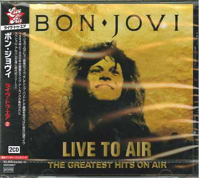 Bon Jovi-Liive To Air - The Greatest Hits On Air-Import 2 Cd With Japan Obi F83