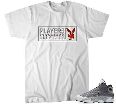 1ca19ee8eb32a T Shirt to match 2019 Nike Air Jordan 13 XIII Retro Atmosphere Grey White 3