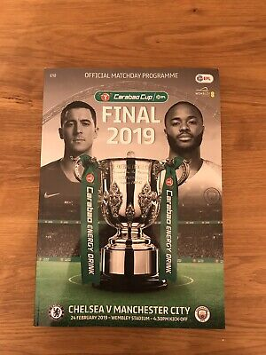 Carabao Cup final 2019 Chelsea v Man City Programme