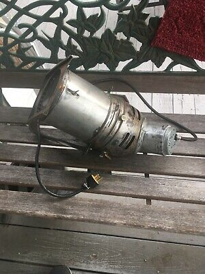 Vintage Stage Type Fixture Lighting Spot Light Lamp Spotlight Works Steampunk