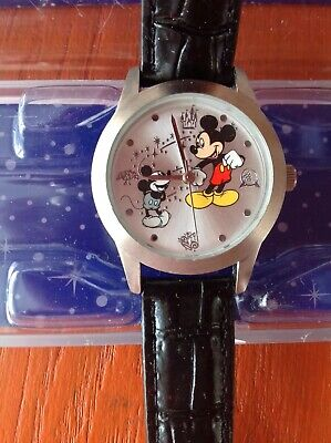 Mickey Mouse Through The Years Limited Time Piece Watch Not Used And Still Boxed