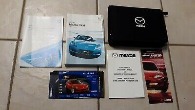 2006 rx 8 owners manual