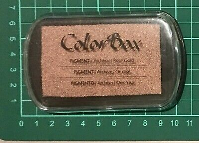 Colorbox Pigment Inkpad ~Rose Gold (Special Price Was $10.50)