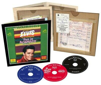 Elvis Presley - The Fun In Acapulco Sessions - 3xCD FTD Set - New & Sealed