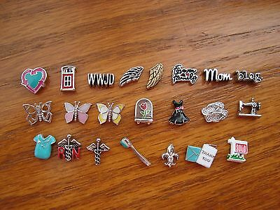 """Authentic Origami Owl """"Your Choice"""" of Charms""""  some HTF  """"New"""" #C2   A?"""