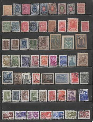 USSR COLLECTION - 113 ALL DIFFERENT SINGLES (Lot USSR 8)