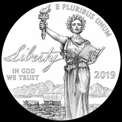 2019-W Proof $100 American Platinum Eagle Liberty