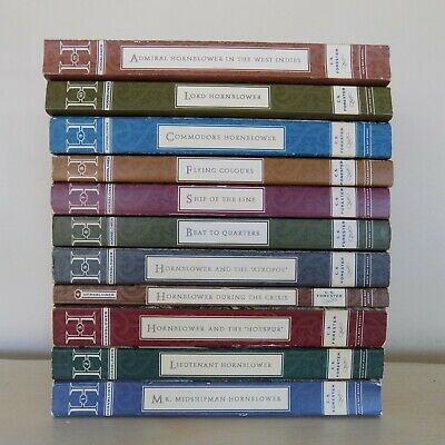 Lot 11 Complete HORATIO HORNBLOWER Series Books by C. S. Forester
