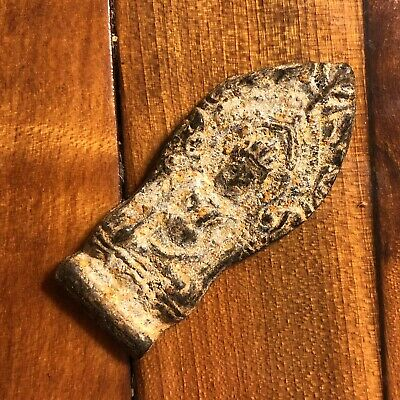 Thailand Siam Asian Buddhist Artifact Monks Amulet Antique Old Talisman Temple