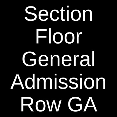 2 Tickets Rufus Du Sol 7/24/19 The Bomb Factory Dallas, TX
