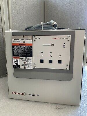 PFEIFFER Vacuum TSU 064D TCP 121 Turbo Pump Controller Molecular Pumping Station