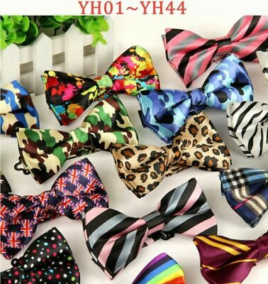 Men Bowtie Bow Tie Suit Necktie Adjustable Formal Tuxedo Wedding Party Ties NEW