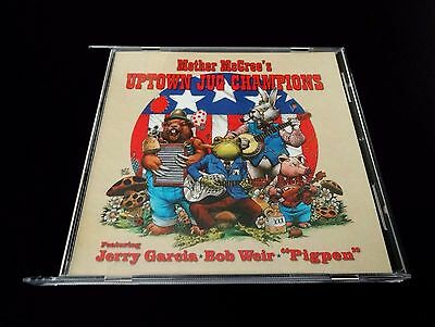Grateful Dead Mother McCree's Uptown Jug Champions CD Jerry Garcia Bob Weir 1964