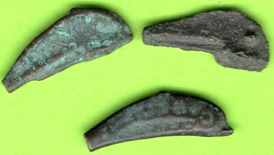 Sarmatia OLBIA Cast Proto Money DOLPHIN 5th BC Ukraine Crimea Russland 3 pc 65