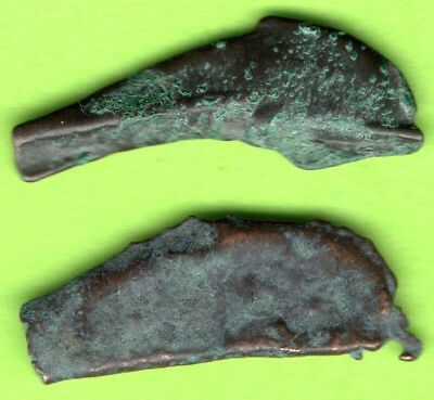 Sarmatia OLBIA Cast Proto Money DOLPHIN 5th BC Ukraine Crimea Russland 2 pc.94