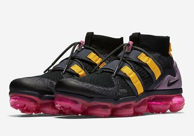 Mens Nike Air vapormax FK Utility AH6834-006 Black/Black NEW Size 10.5