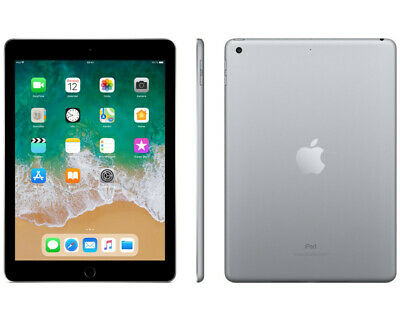 Apple IPad Model 2018 Tablet 9.7 Zoll 32GB Speicher iOS11 Space Grey