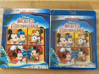 Mickeys Christmas Carol Dvd.Walt Disney Mini Classics Mickeys Christmas Carol Blu Ray Dvd Mickey Mouse