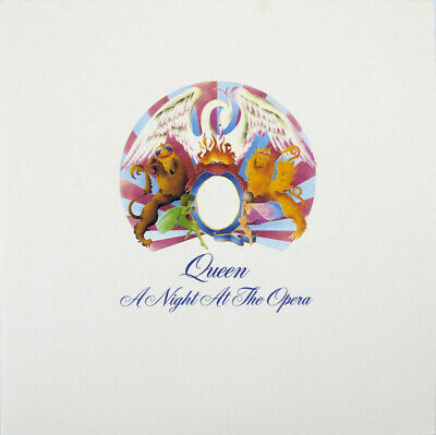 Queen ‎– A Night At The Opera SEALED Hollywood D000262001 VINYL LP