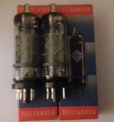 El36 Telefunken Tube Electronique X 2 Pcs