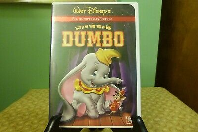 Disney Dumbo (DVD, 2001, 60th Anniversary Edition) Near Mint Condition