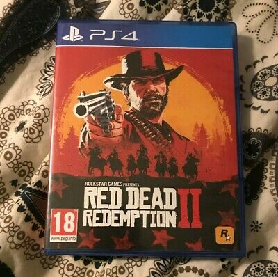 Red Dead Redemption 2 ps4 game/ PlayStation