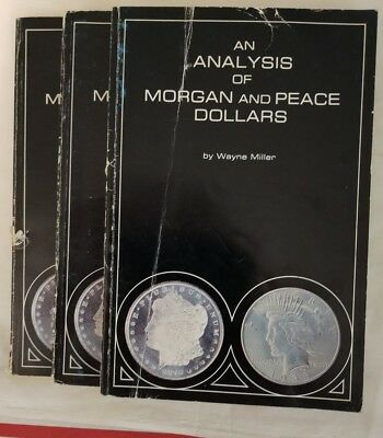 Morgan & Peace Silver Dollars by Wayne Miller Out of Print = BEST BOOK EVER